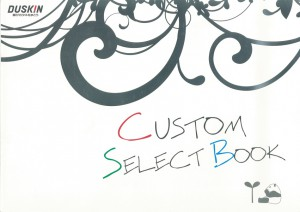 ダスキン様「CUSTOM SELECT BOOK」